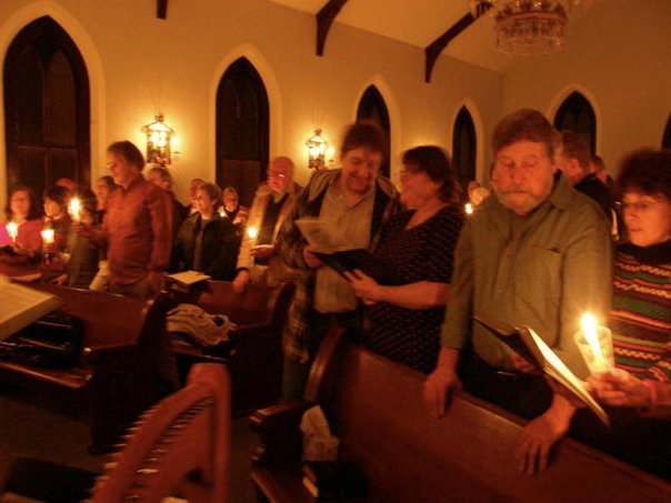 Celtic Christmas service in New Windsor, MD